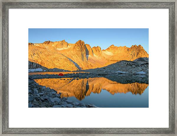 Sunset In The Enchantments Framed Print
