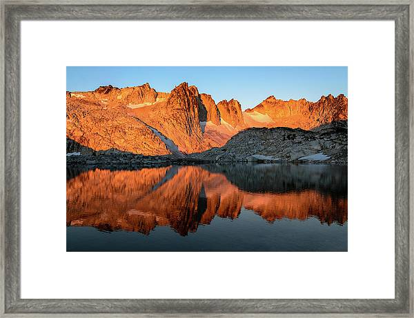 Sunset In The Higher Enchantment Framed Print