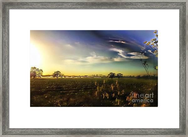 Sunset Magic Framed Print
