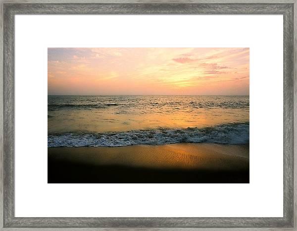 Sunset On Captiva Framed Print