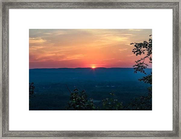 Sunset Over Easthampton Framed Print