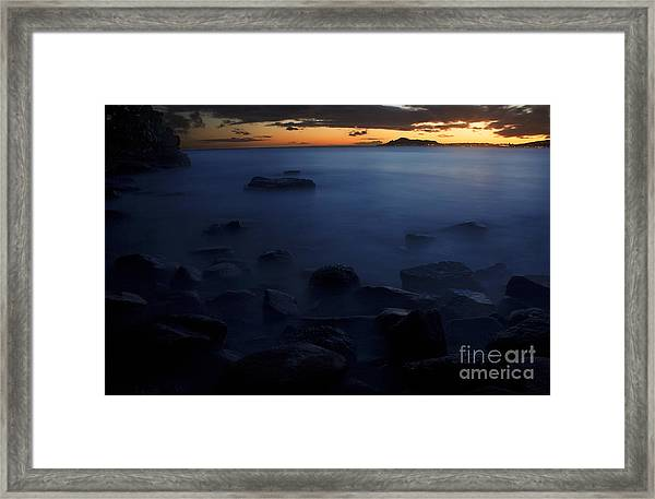 Sunset Over Portlock II Framed Print