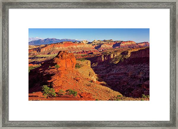 Sunset Point View Framed Print