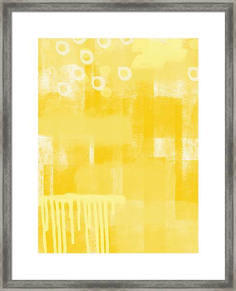 Sunshine- Abstract Art Framed Print