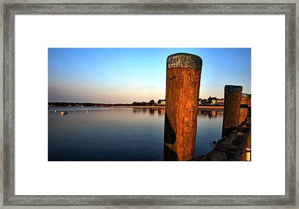 Sunshine On Onset Bay Framed Print