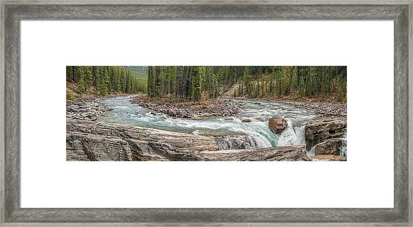 Sunwapta Panorama Framed Print