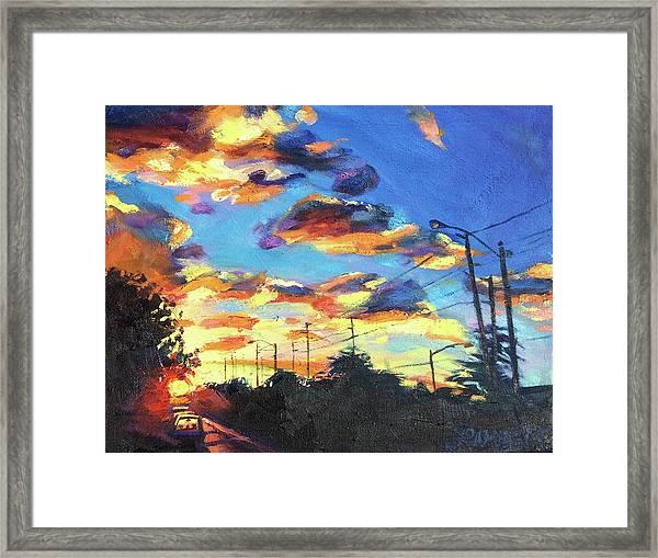 Sunward Framed Print