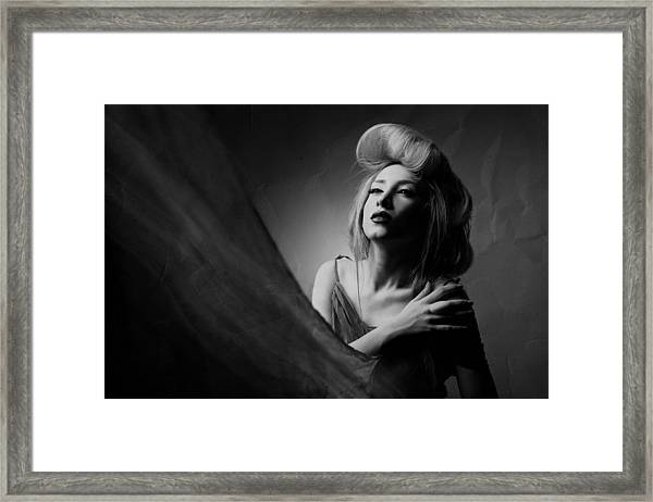 Super Lady Framed Print