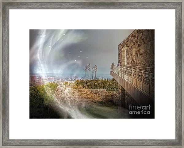 Super Natural Aliens Are Coming Getty Museum  Framed Print