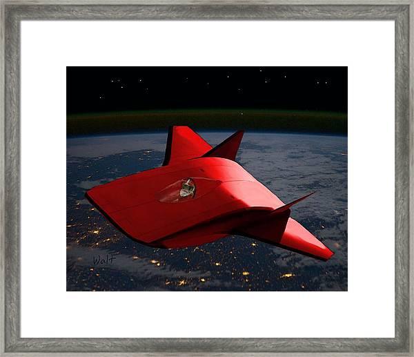 Super Sleigh Framed Print
