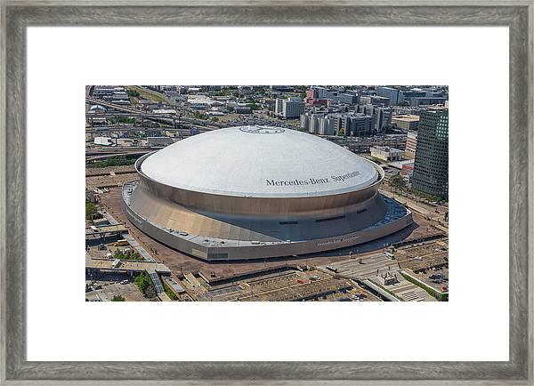 Superdome Framed Print