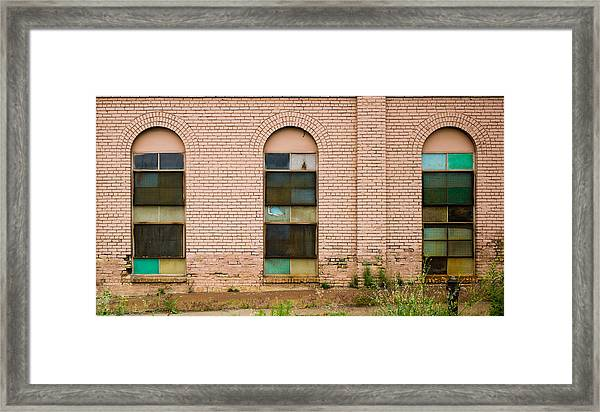 Superior Plating Windows Framed Print