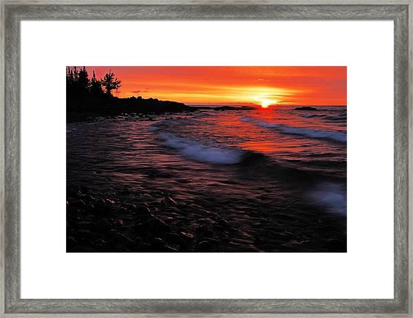 Superior Sunrise 2 Framed Print