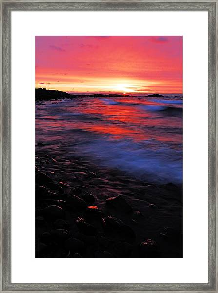 Superior Sunrise Framed Print
