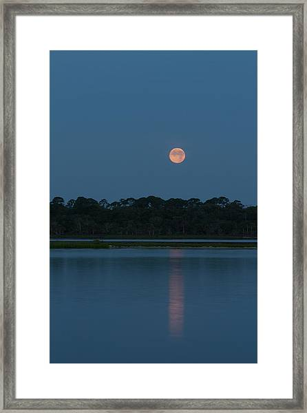 Supermoon Dawn 2013 #2 Framed Print