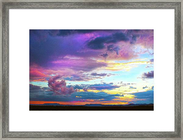 Supernatural Sky - Colorado Framed Print