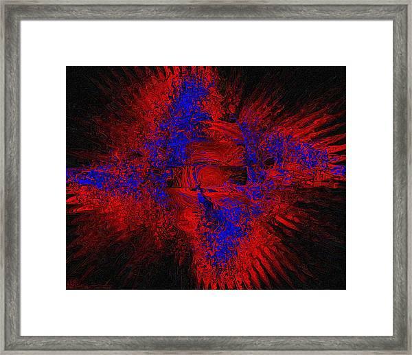 Supernova Framed Print