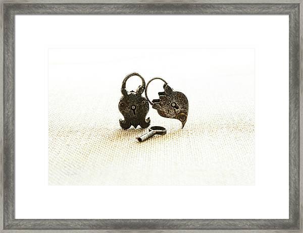 Supported Framed Print