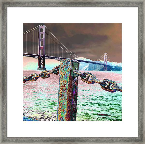 Supporting Post Framed Print