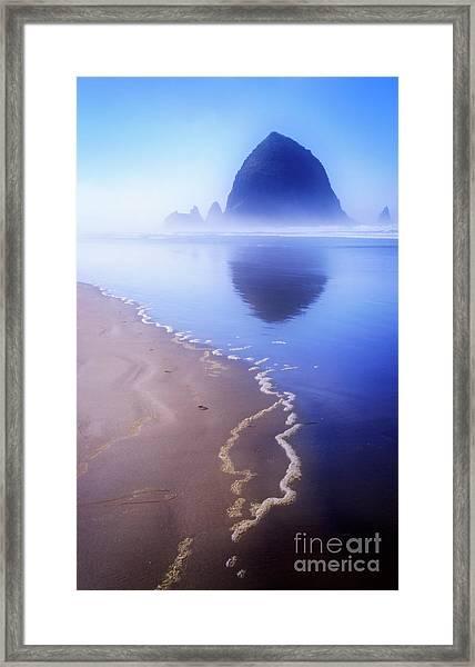 Surf Reflection Framed Print
