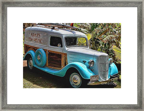 Surfin Safari Framed Print