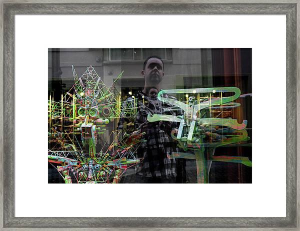 Surreal Introspection Framed Print