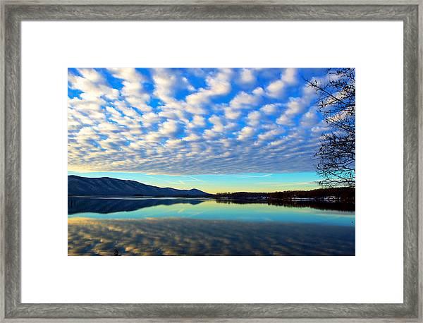 Surreal Sunrise Framed Print