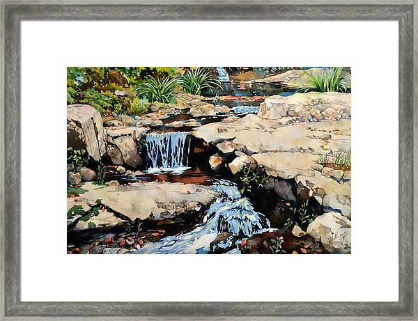 Susquehanna Falls Framed Print