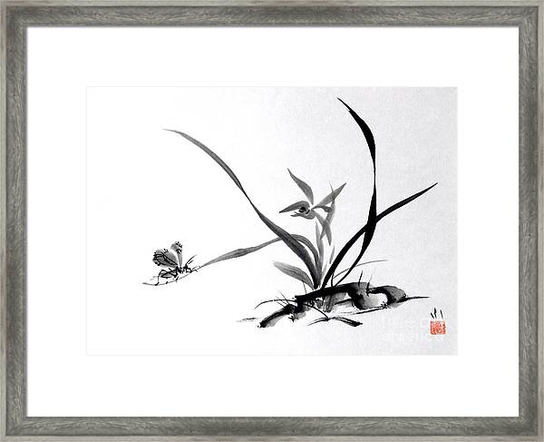 Suzumushi/ Sounds Of Fall Framed Print