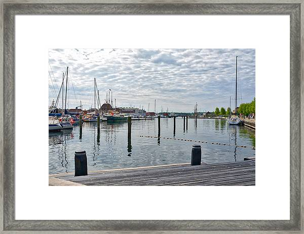 Svendborg Harbour Framed Print