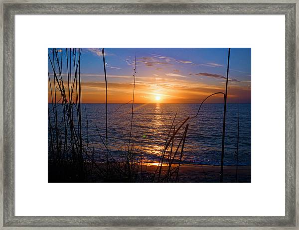 Sw Florida Sunset Framed Print