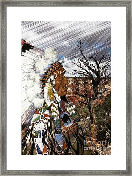 Sw Indian Framed Print