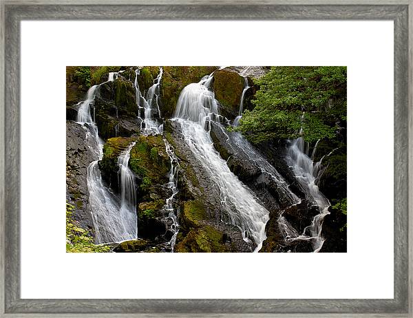 Swallow Falls Framed Print