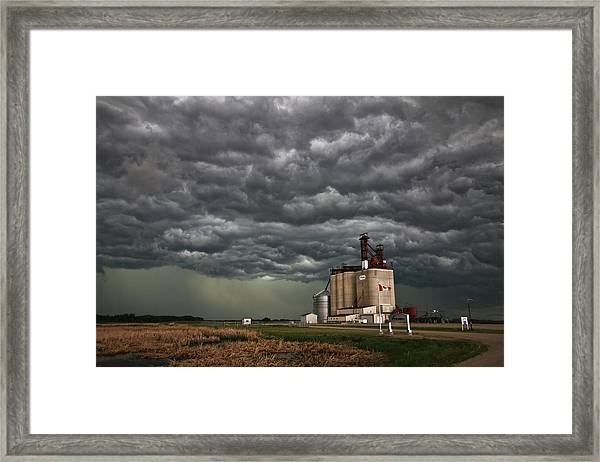 Swallowed By The Sky Framed Print