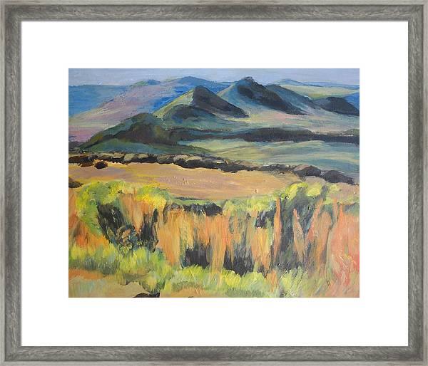 Swartberge Framed Print