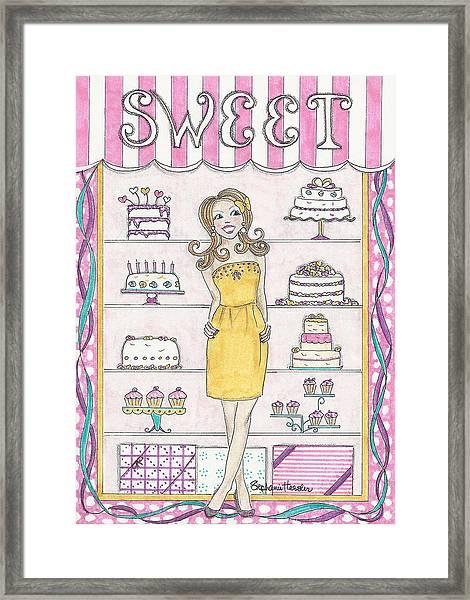 Sweet Birthday Framed Print