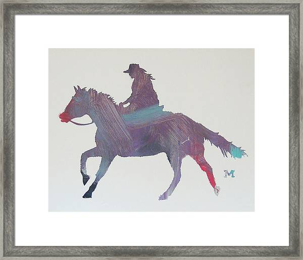 Framed Print featuring the painting Sweet Kiss by Candace Shrope