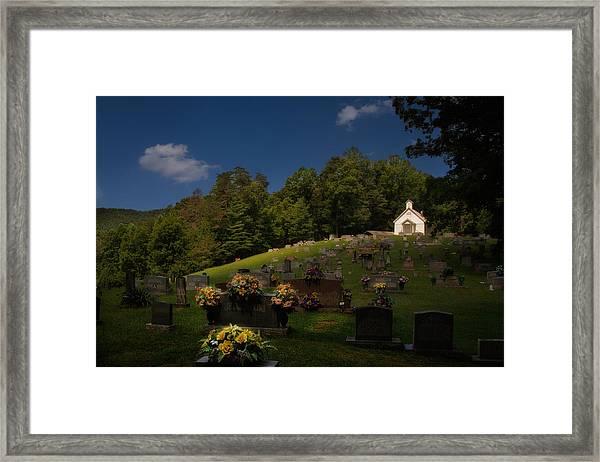 Sweet Little Church Framed Print