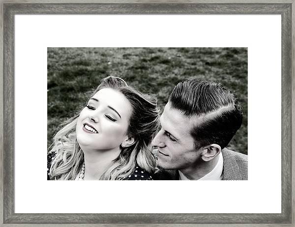 Sweet Nothings Framed Print