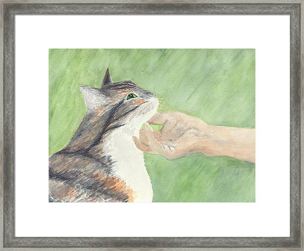 Framed Print featuring the painting Sweet Spot by Kathryn Riley Parker