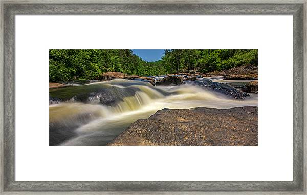 Sweetwater Creek Long Exposure 2 Framed Print