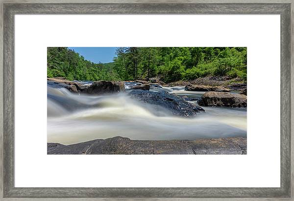 Sweetwater Creek Long Exposure Framed Print