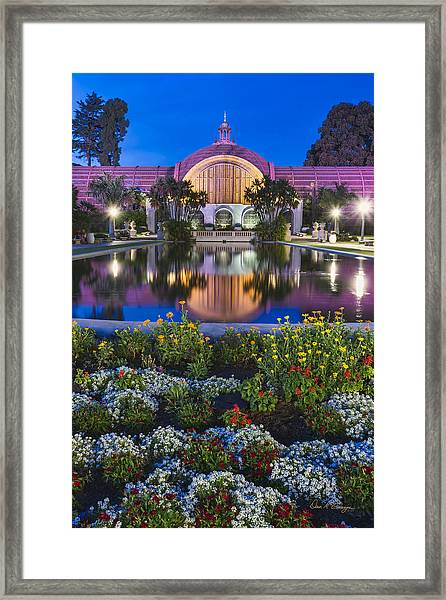 Phantom Paddler Framed Print