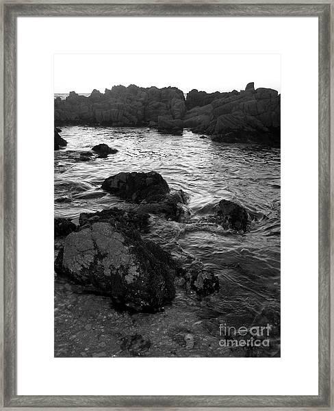 Swirling Tide Framed Print