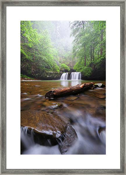 Sycamore Falls Framed Print