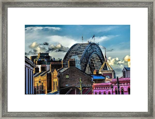 Sydney Harbor Bridge Framed Print