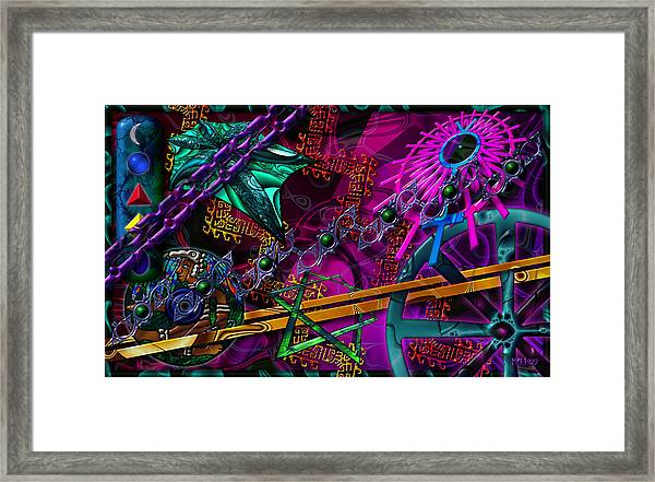 Symagery 21 Framed Print