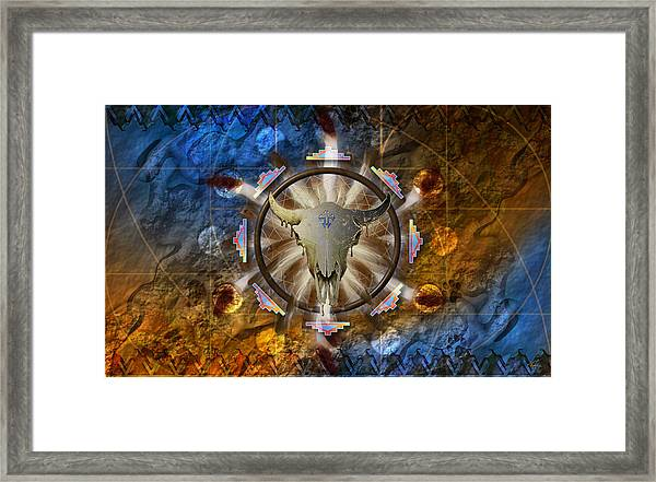 Symagery 36 Framed Print