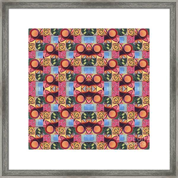 Synchronicity - A  T J O D 1 And 9 Arrangement Framed Print
