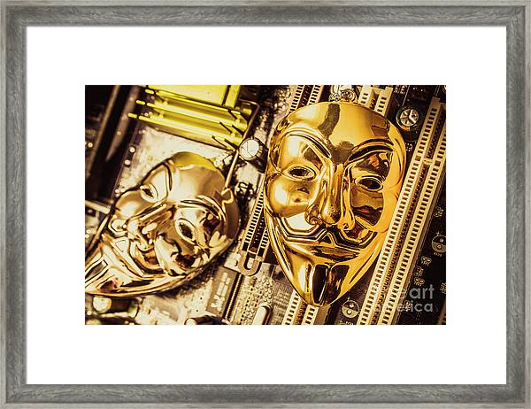 Systems Of Anon Framed Print